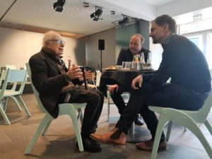 Peter Brook Bei Den Ruhrfestspielen 11 5 2019 Foto Ruhrfestspiele